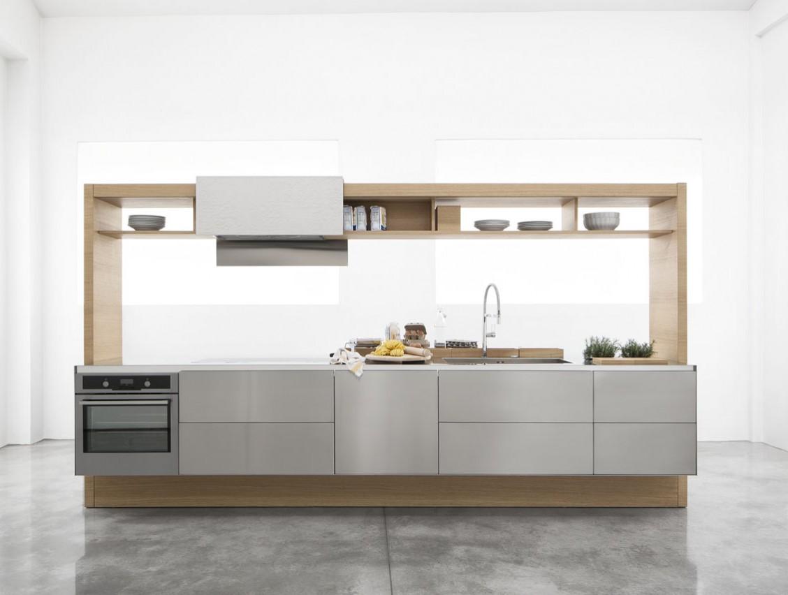 Кухня Archea. Минималистичная кухня - кухонный остров.