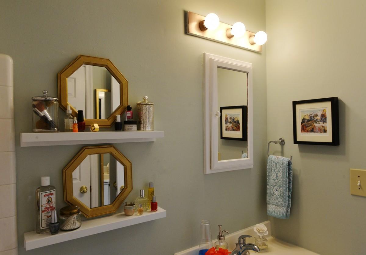 Зеркала - не только необходимый элемент ванной комнаты, но они могут быть и прекрасным элементом декора.