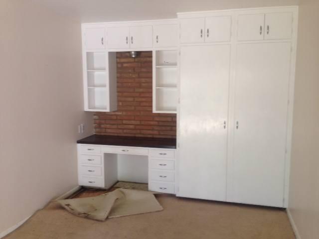 До реконструкции. Мебель в детской была в хорошем состоянии, ее было решено оставить.
